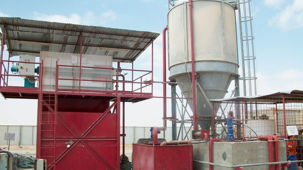 Stone, Marble, Granite: Water and slurry treatment plants